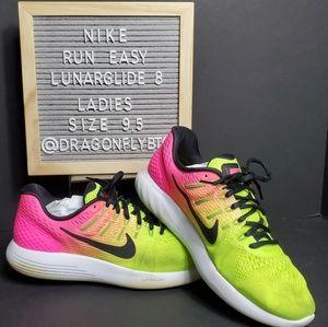 💲⬇️ EUC Nike Run Easy Lunarglide 8 sz 9.5